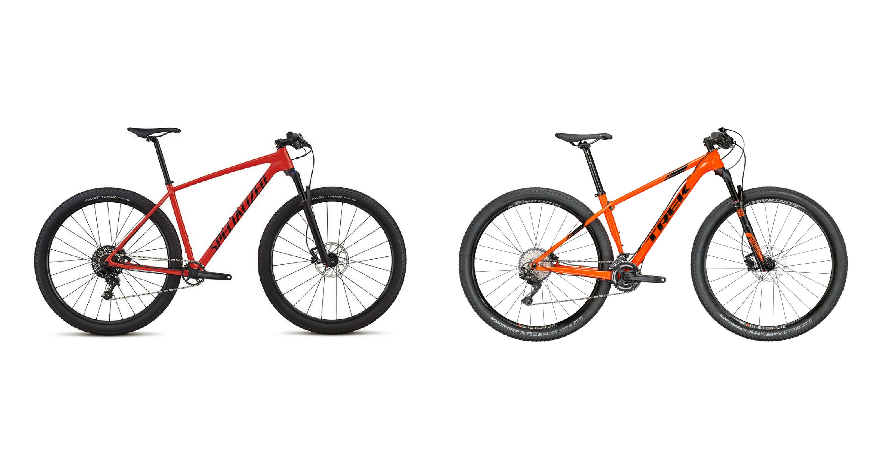 2018 Specialized Chisel Vs 2018 Trek Procaliber Alloy Everyday Mtb