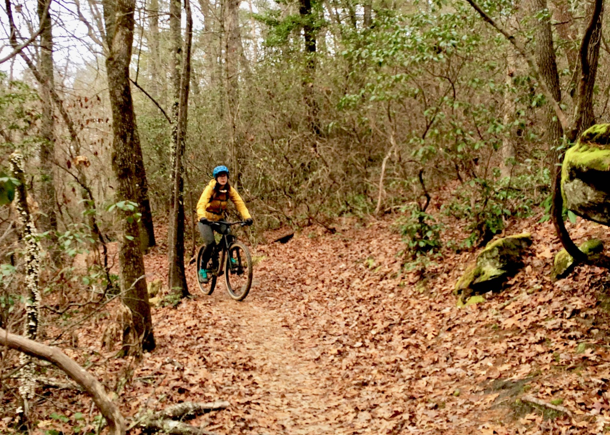 A Family Mountain Bike Route in Dupont State Forest