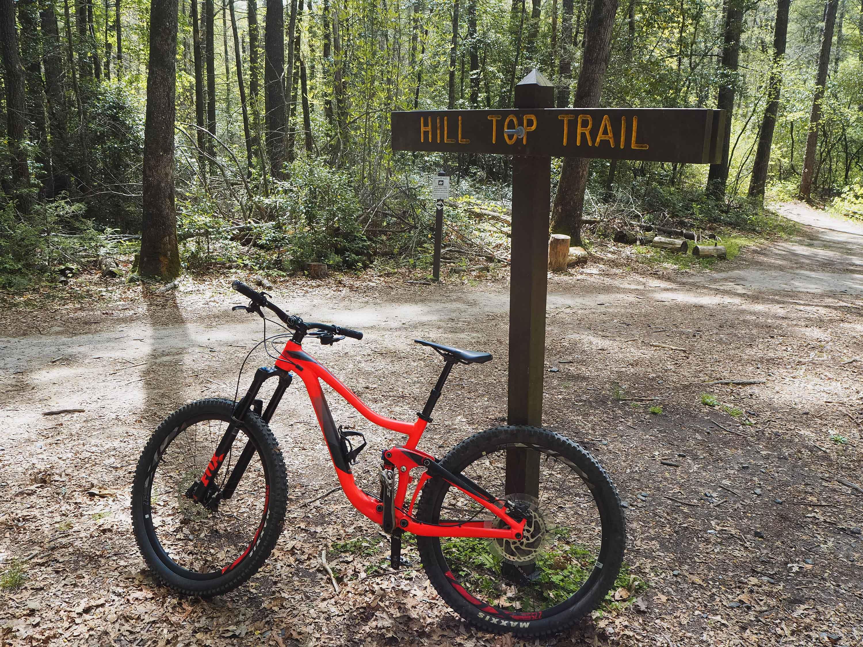Mountain Biking at DuPont