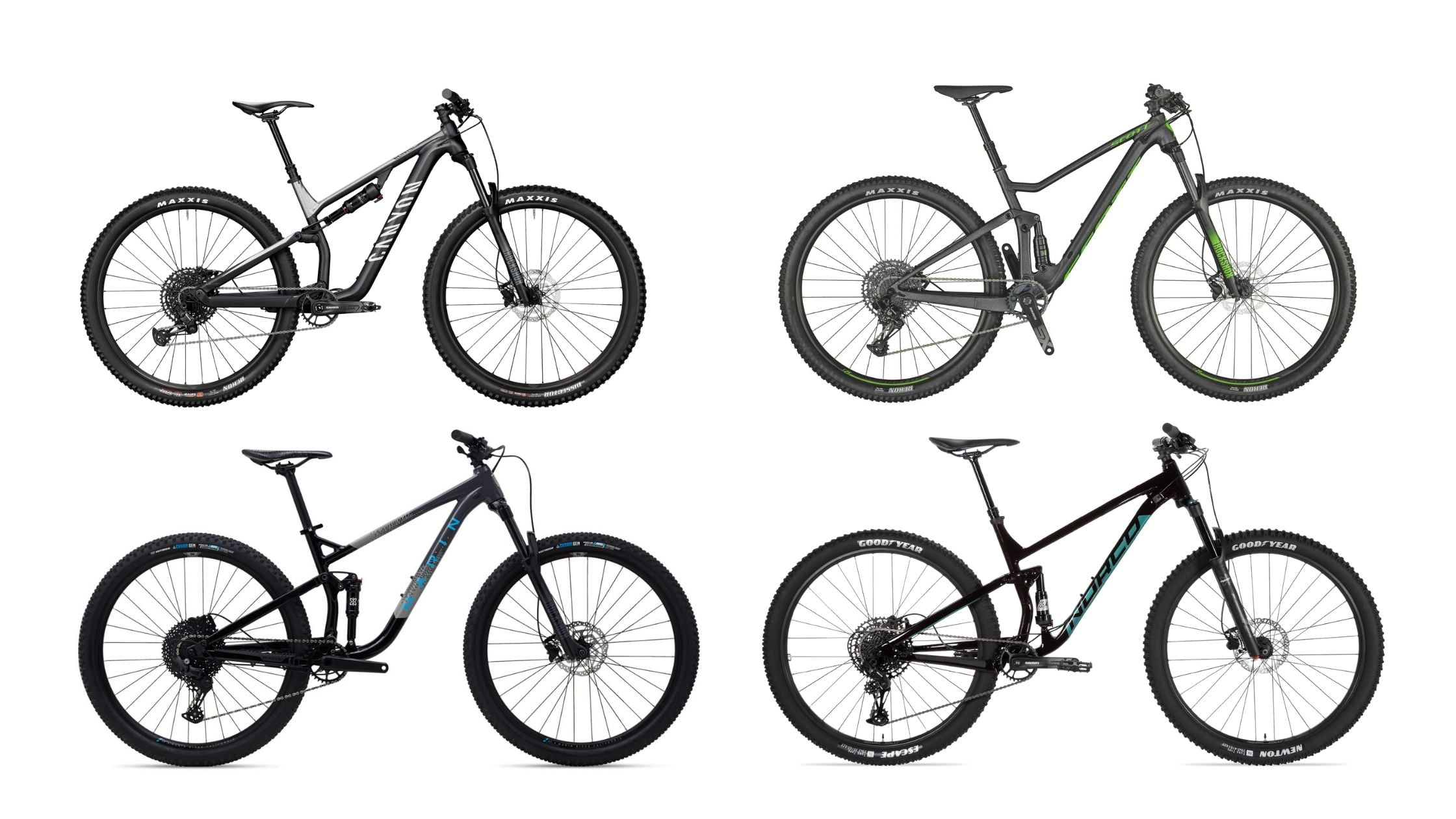 Best 2021 Full Suspension Trail Bikes For $2000